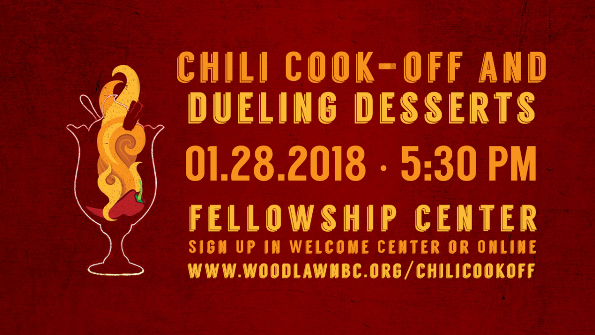 Chili Cook Off And Dueling Desserts