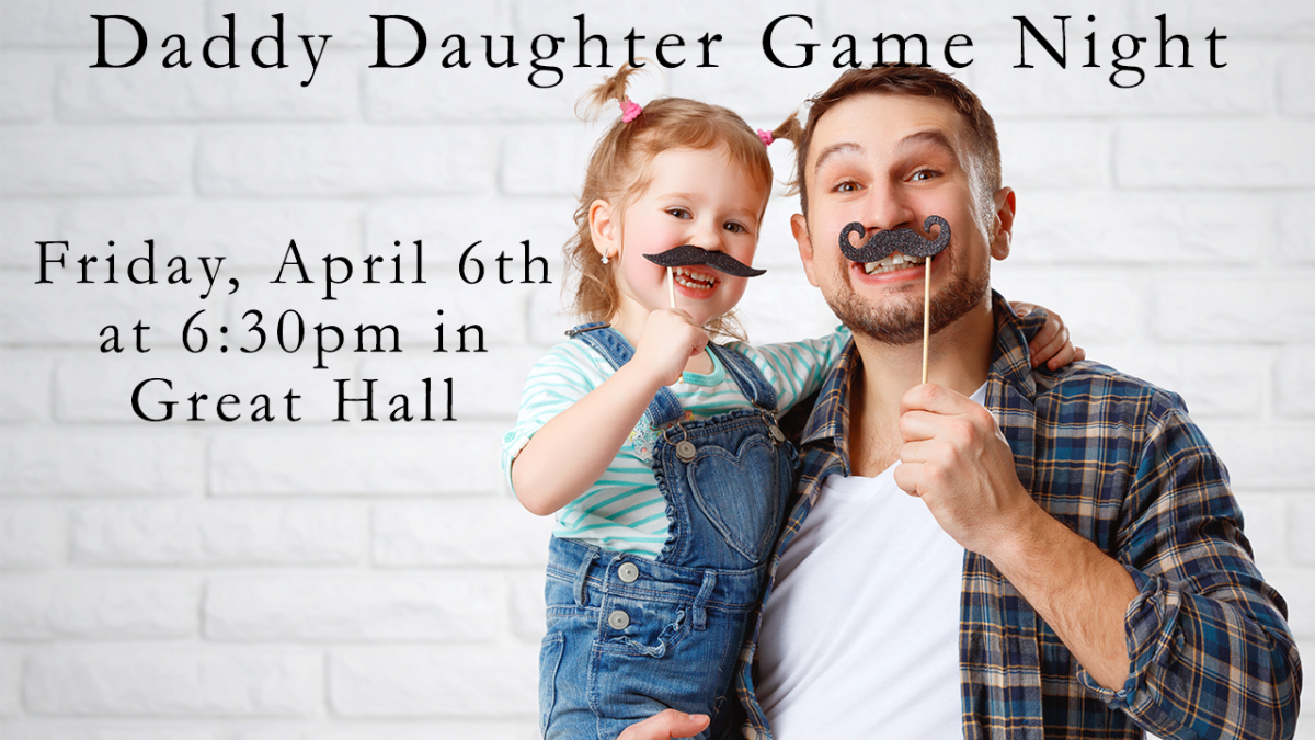 Daddy Daughter Game Night